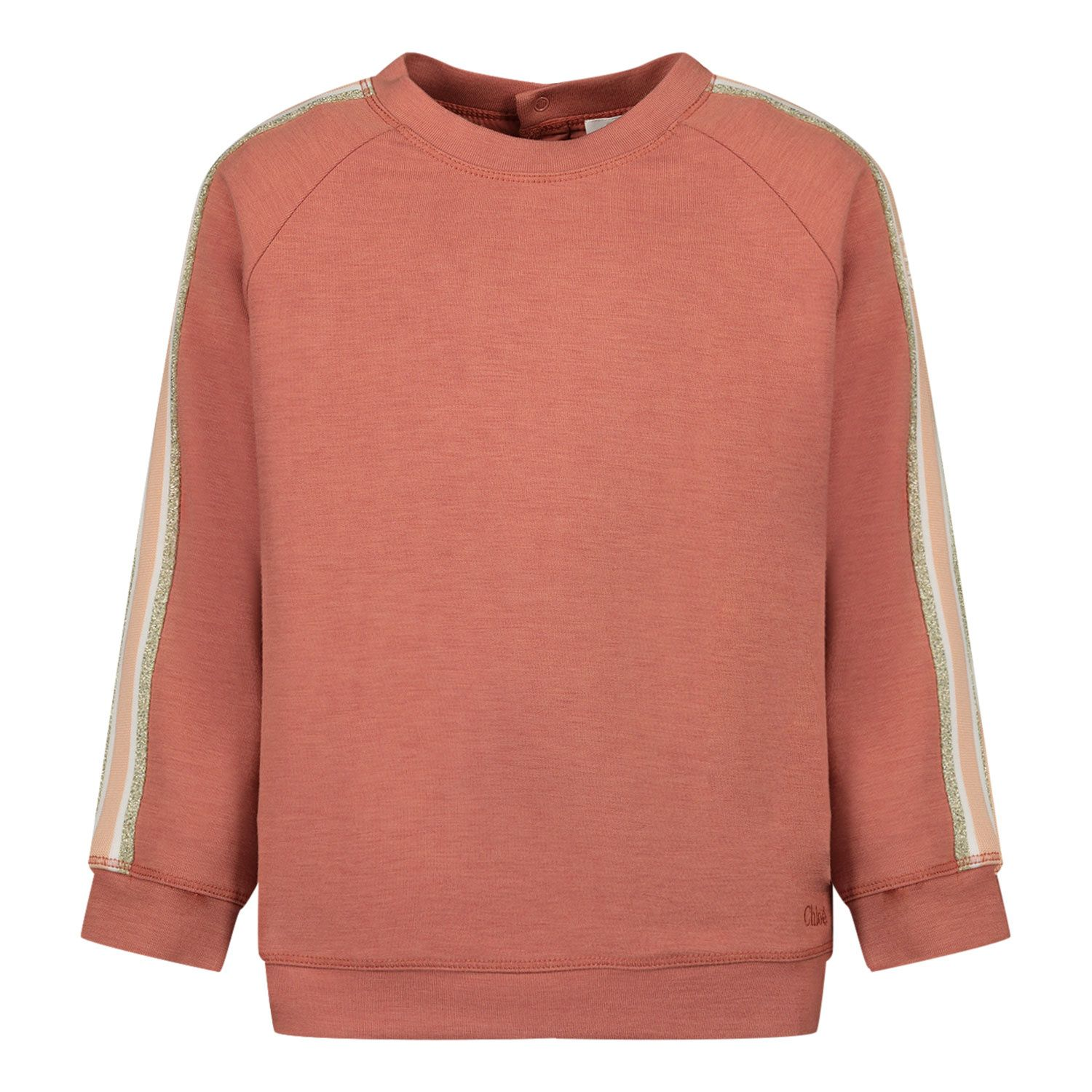 Picture of Chloé C05375 baby sweater brown