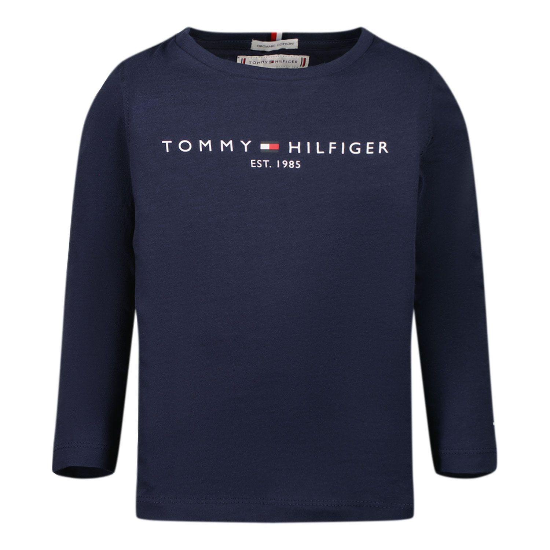 Bild von Tommy Hilfiger KS0KS00202B Baby-T-Shirt Marine