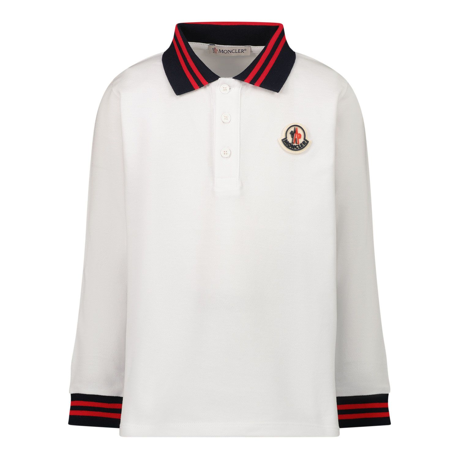 Picture of Moncler 8B70820 baby poloshirt off white