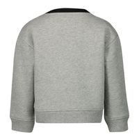 Picture of Burberry 8020481 baby sweater grey
