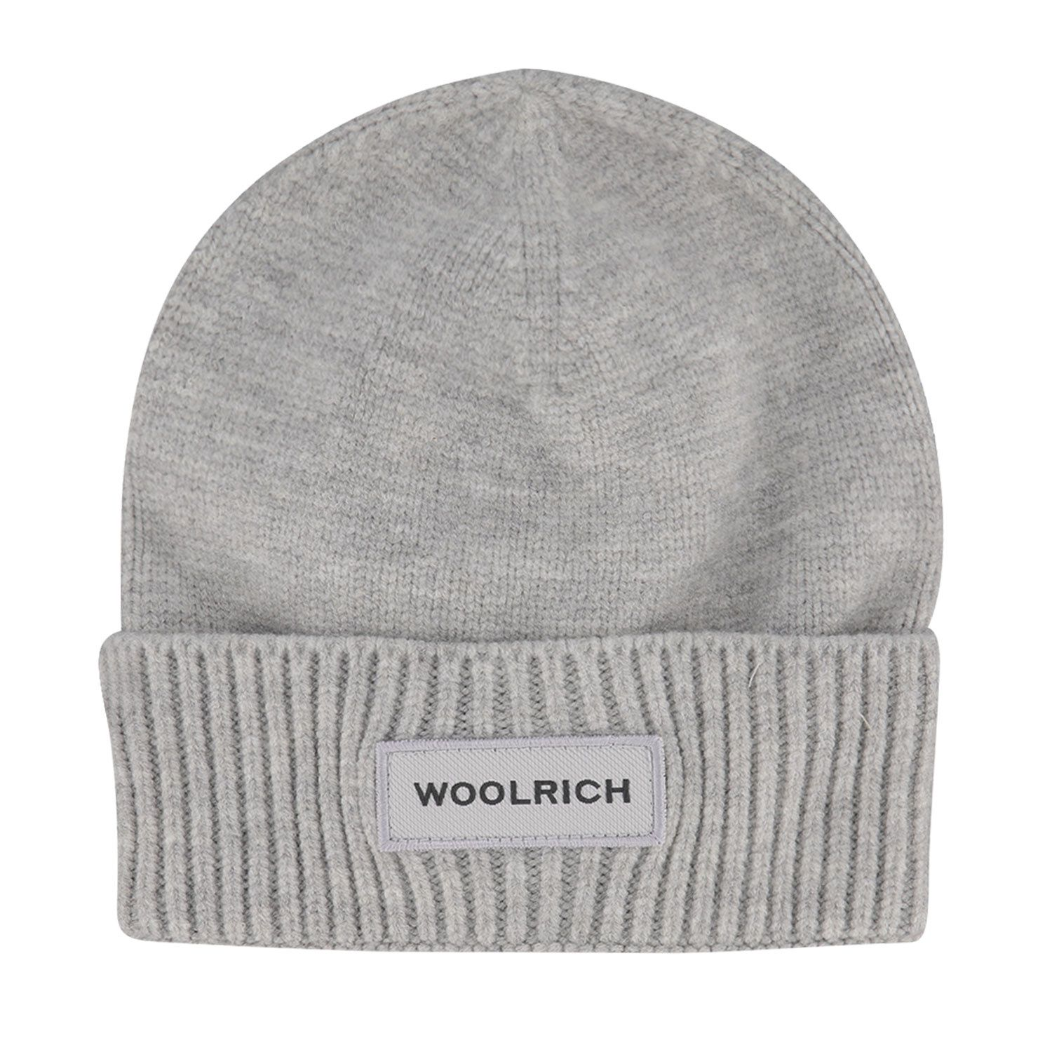 Picture of Woolrich WKAC0096FR baby hat grey