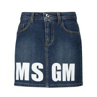 Picture of MSGM 25210 kids skirt jeans