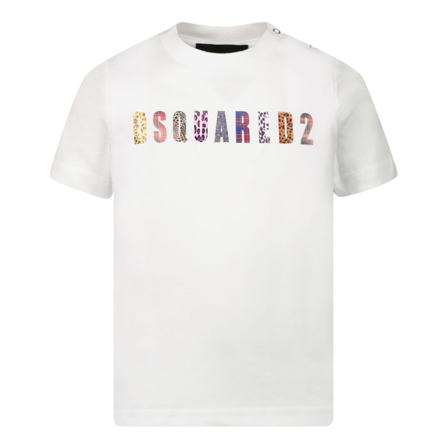 Picture of Dsquared2 DQ0426 baby shirt white