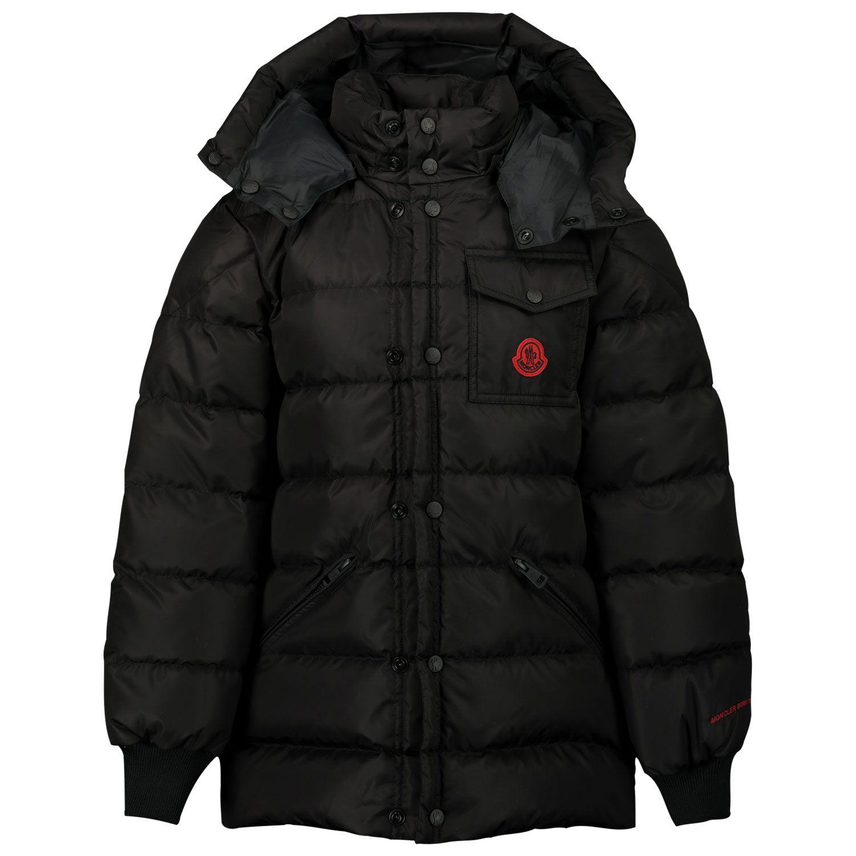 Picture of Moncler 1B51820 kids jacket black