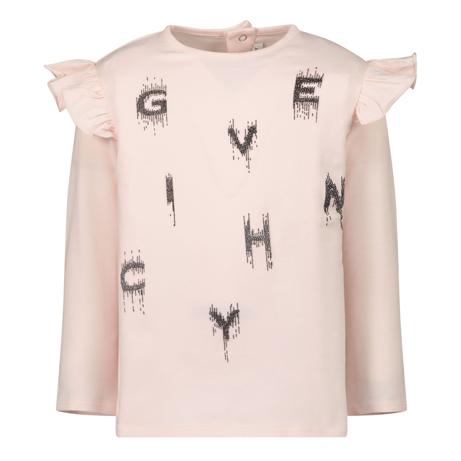 Picture of Givenchy H05178 baby shirt light pink