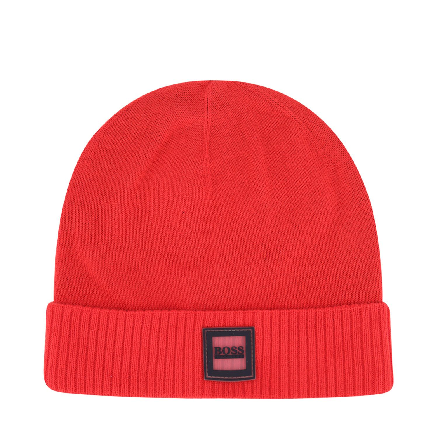 Picture of Boss J01120 baby hat red