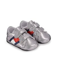 Picture of Tommy Hilfiger 30770 baby sneakers silver