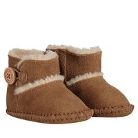 Picture of UGG 1018136I baby slippers camel