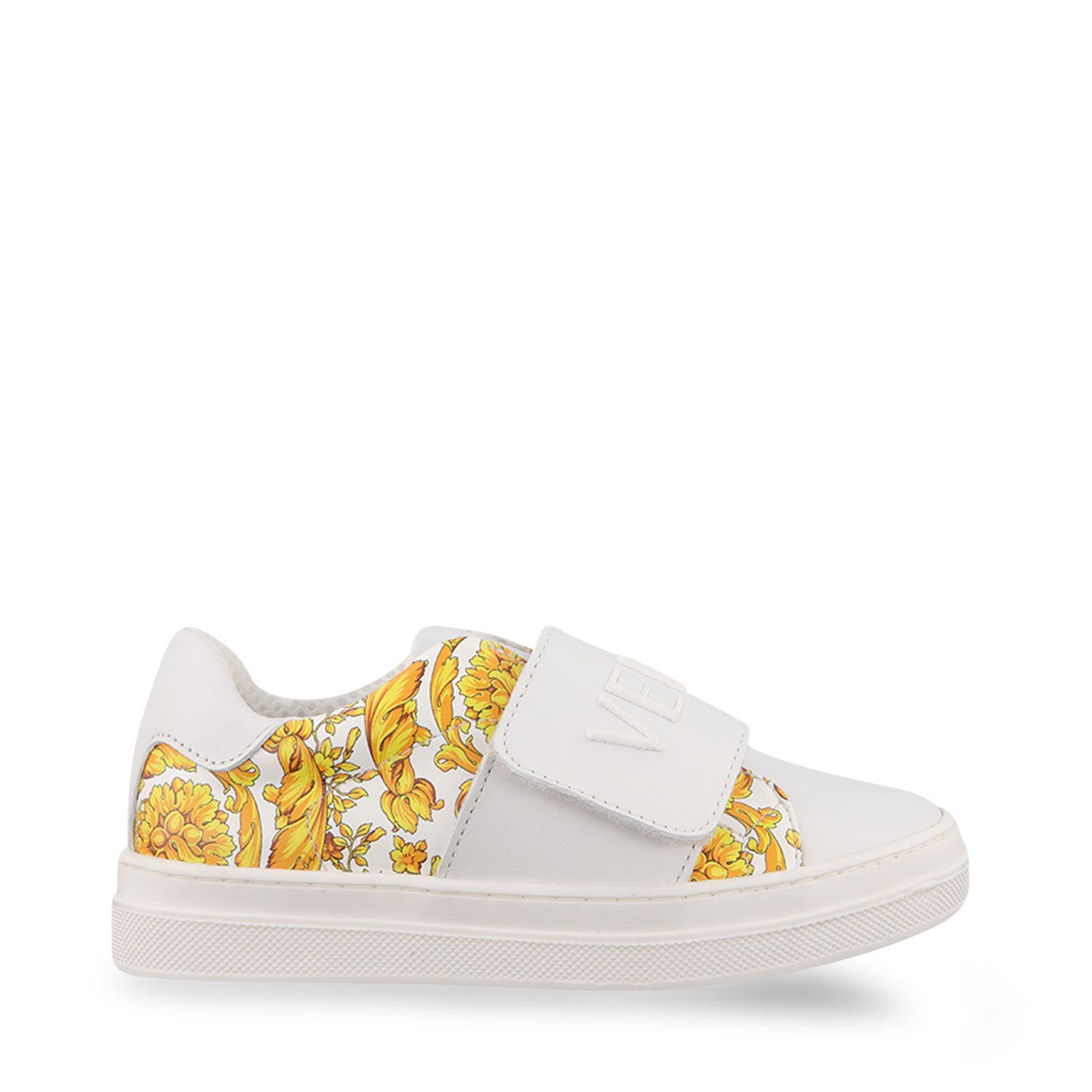 Picture of Versace YHX00028 kids sneakers white