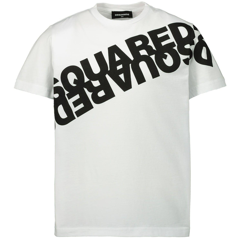 Afbeelding van Dsquared2 DQ03WA kinder t-shirt wit
