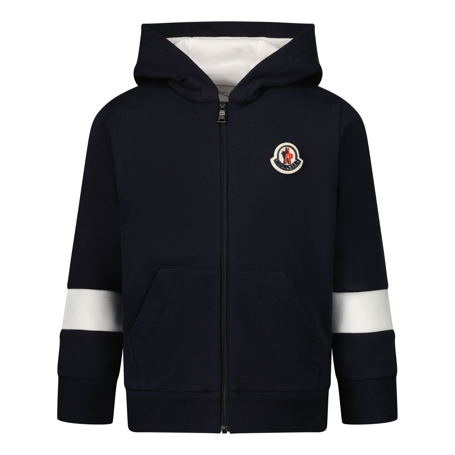 Picture of Moncler 8G71720 baby vest navy