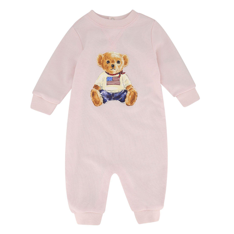 Bild von Ralph Lauren 320799053 Babystrampelanzug Hellrosa