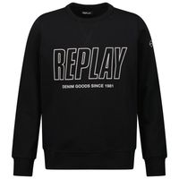 Picture of Replay SB2026 02022739 kids sweater black
