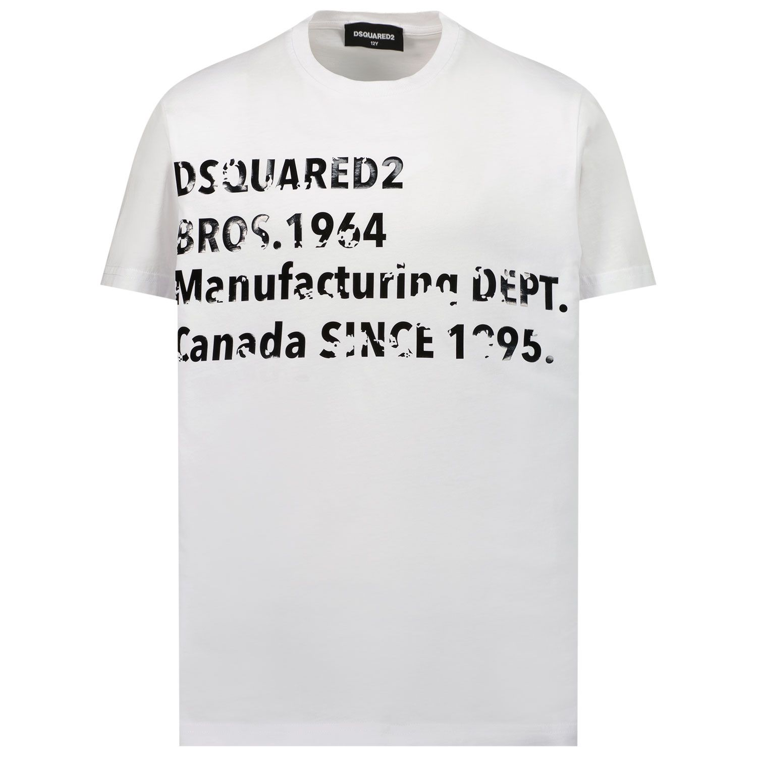 Picture of Dsquared2 DQ0149 kids t-shirt white