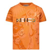 Picture of Kenzo K05035 baby shirt salmon