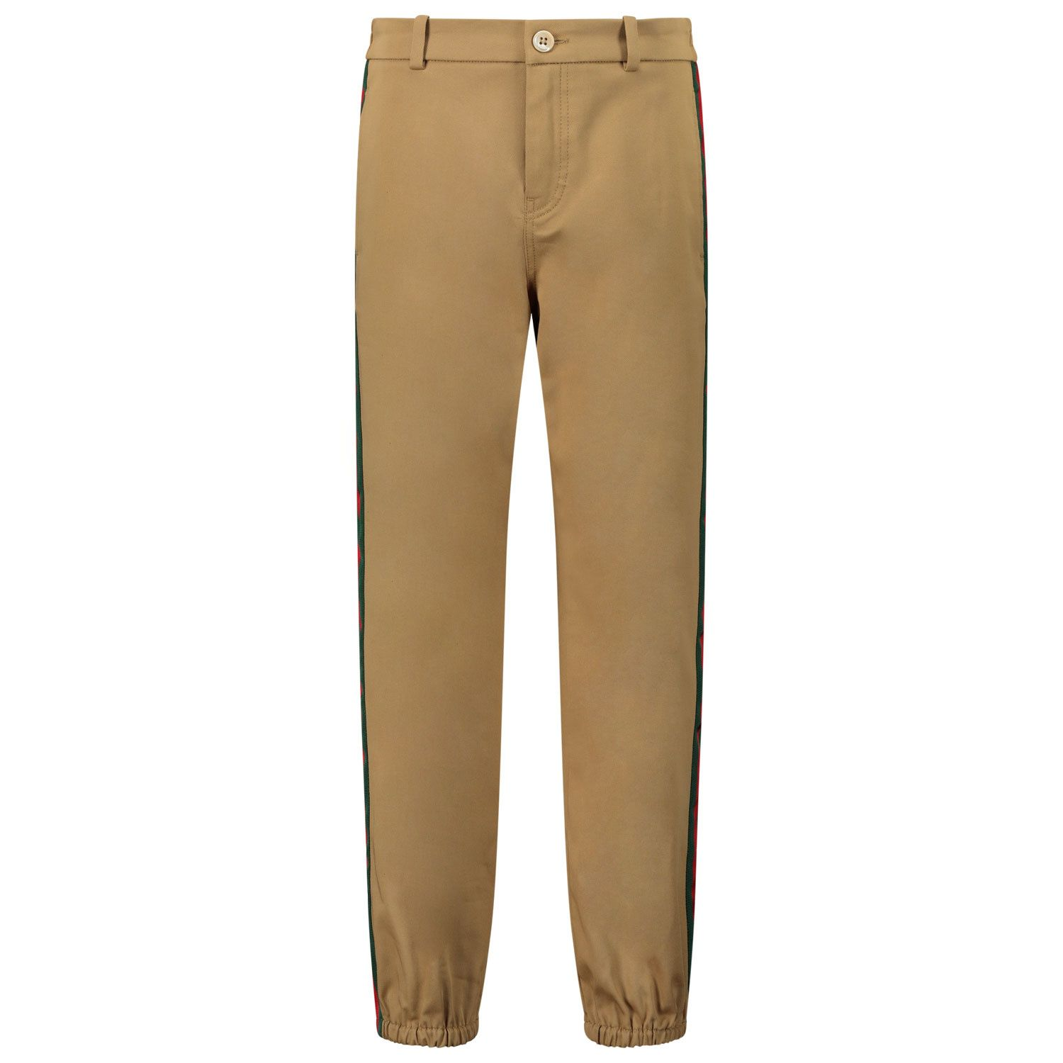 Picture of Gucci 573995 kids jeans camel