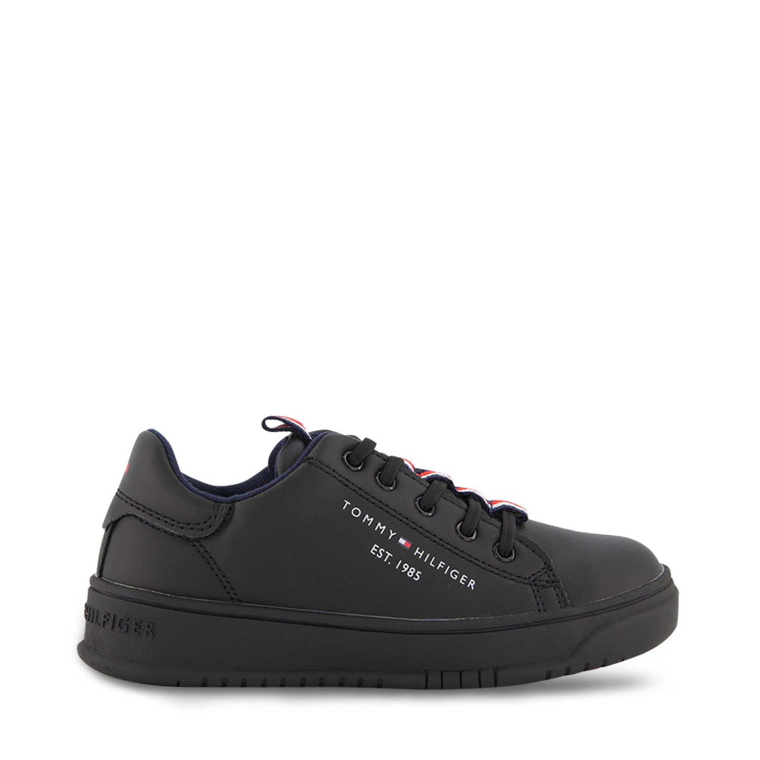 Picture of Tommy Hilfiger 32052 kids sneakers black