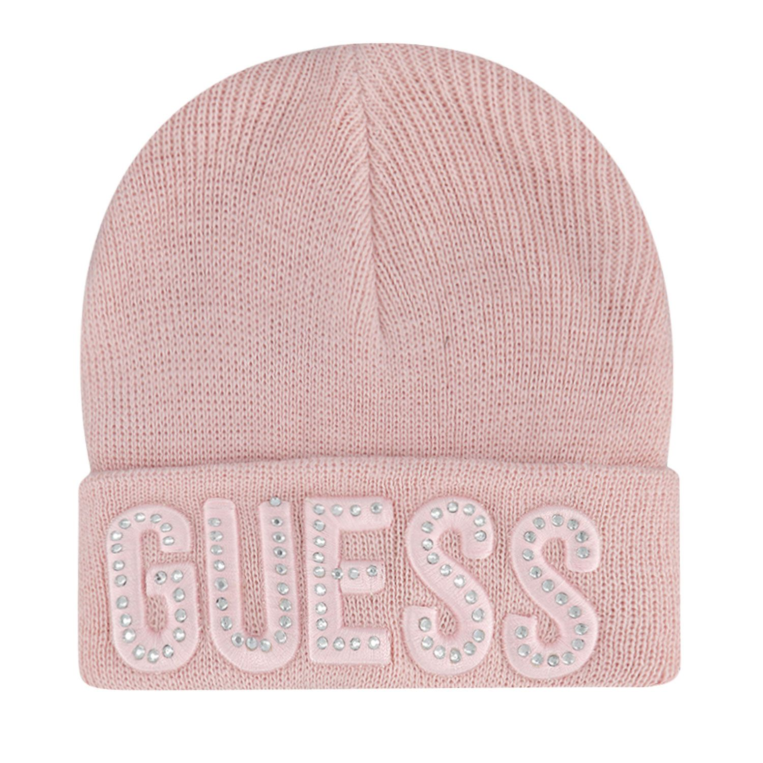 Picture of Guess A0BZ01/Z2QQ0B baby hat light pink
