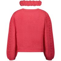 Picture of Mayoral 4373 kids sweater fuchsia