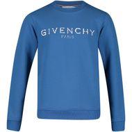Afbeelding van Givenchy H25110 kindertrui blauw