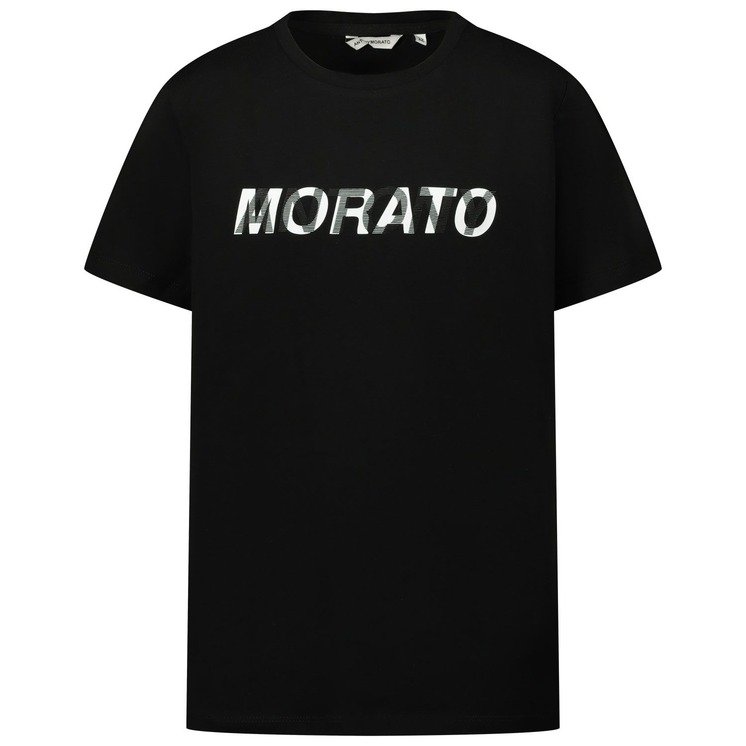 Picture of Antony Morato MKKS00504 kids t-shirt black