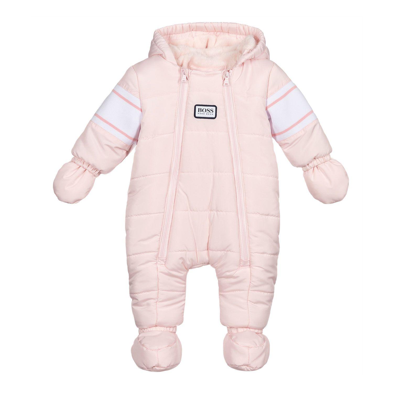Afbeelding van Boss J96098 baby skipak licht roze