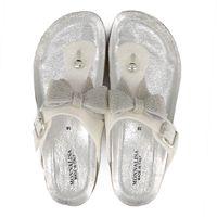 Picture of MonnaLisa 875034 kids flipflops white