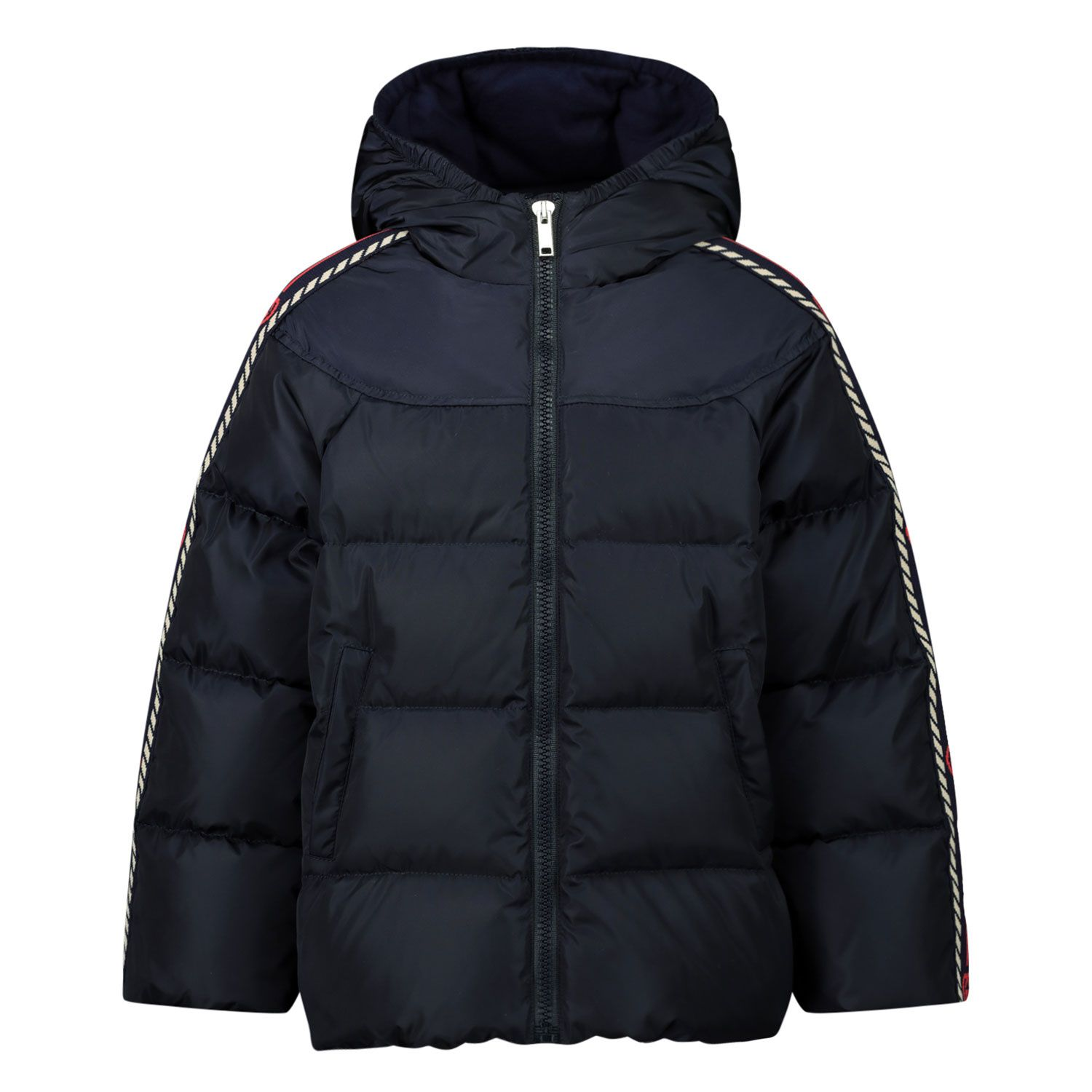 Picture of Gucci 622832 baby coat navy