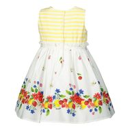 Afbeelding van MonnaLisa 315921 babyjurkje geel