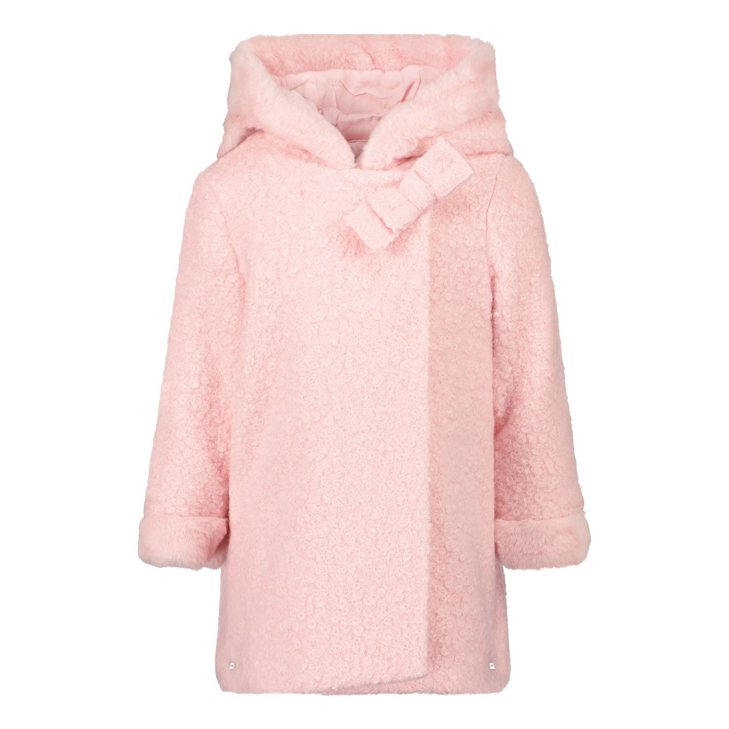 Picture of Mayoral 2435 baby coat light pink