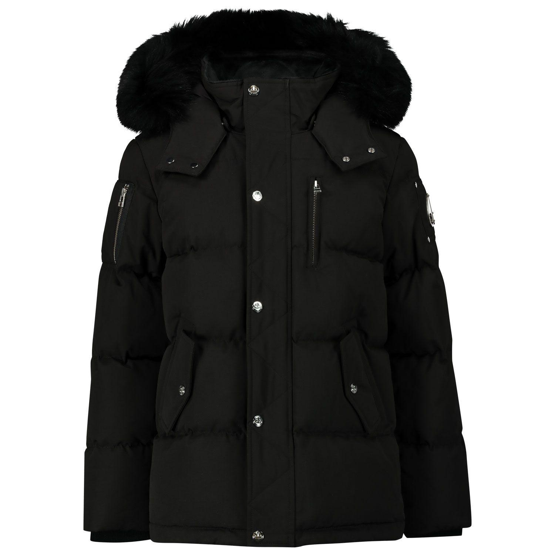 Picture of Moose Knuckles M30UJ193 kids jacket black