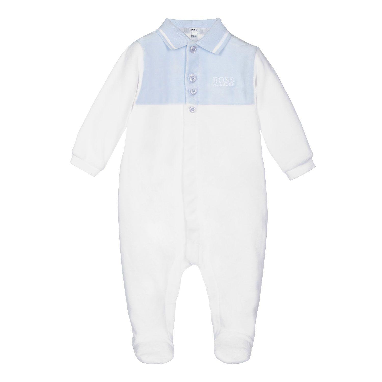 Bild von Boss J97179 Babystrampelanzug Weiß