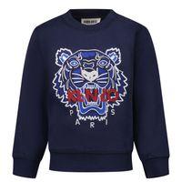 Picture of Kenzo K05087 baby sweater dark blue