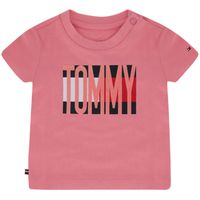 Picture of Tommy Hilfiger KN0KN01155 baby shirt pink