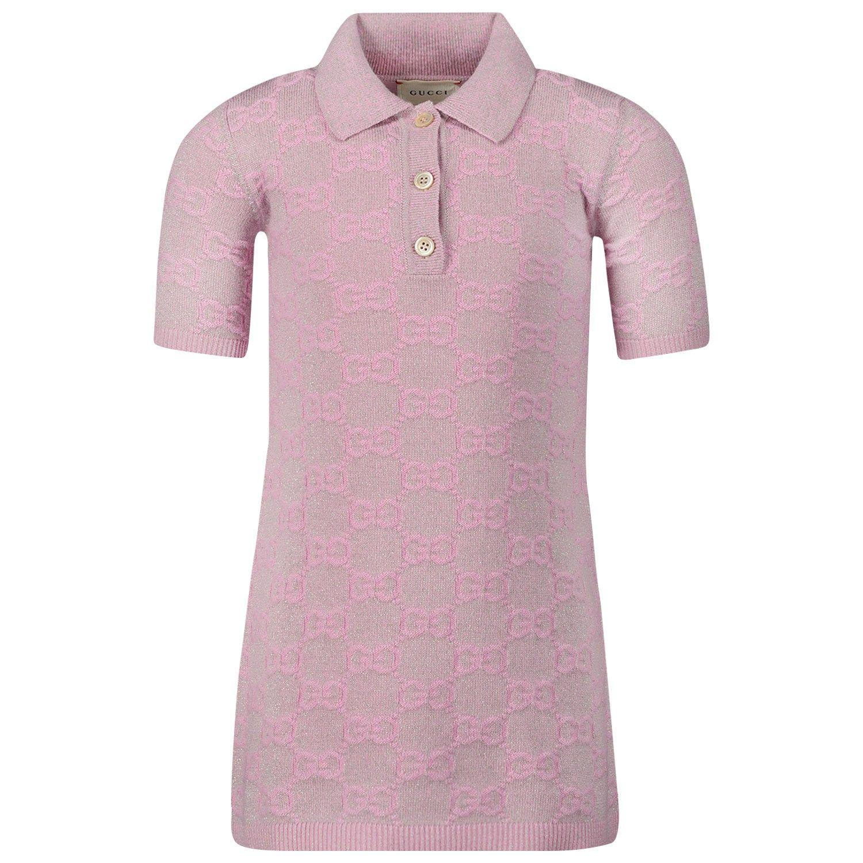 Bild von Gucci 603472 Babykleid Pink