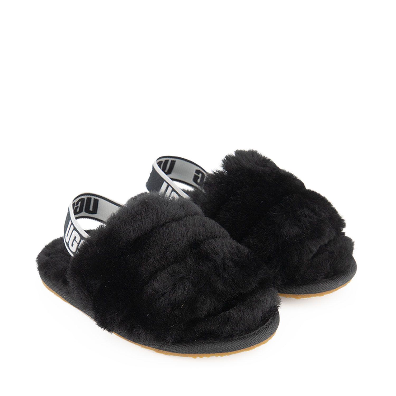 Picture of Ugg 1098579 kids flipflops black