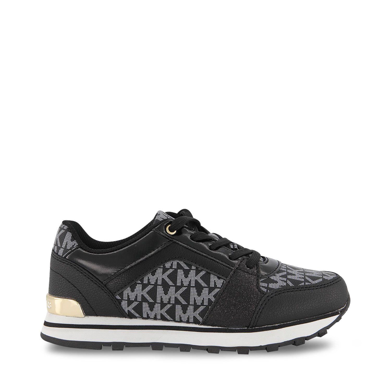Afbeelding van Michael Kors MK100077 kindersneakers zwart