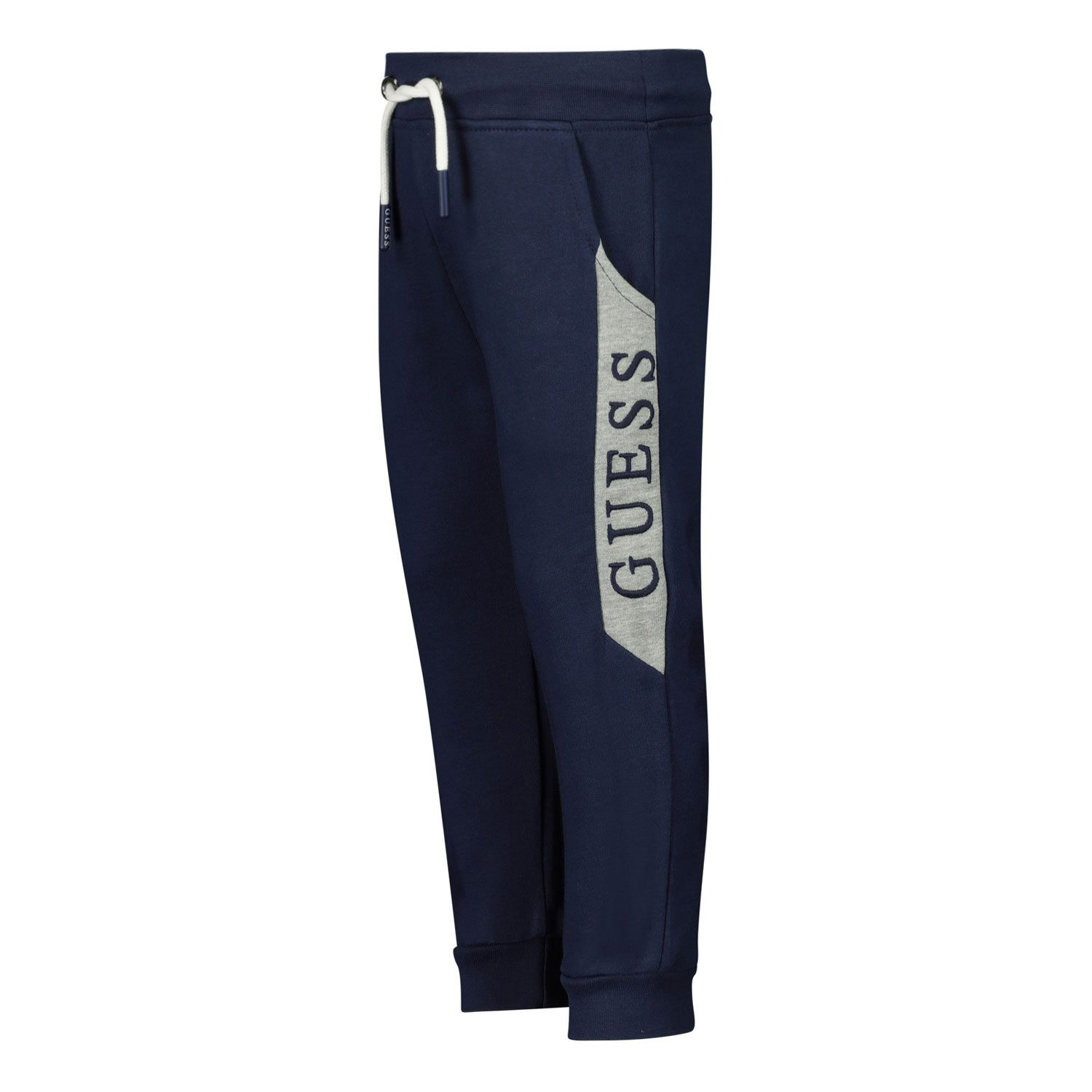 Picture of Guess N0YQ12/KA6R0 baby pants navy