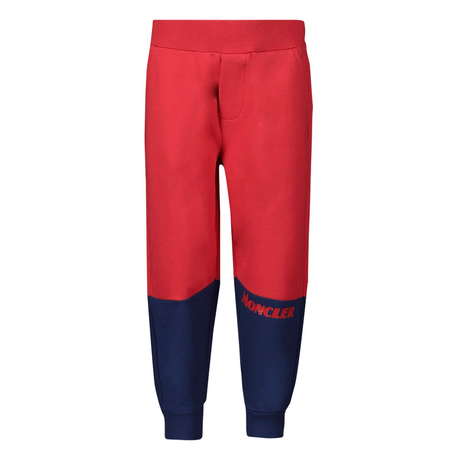 Picture of Moncler 8H70120 baby pants red