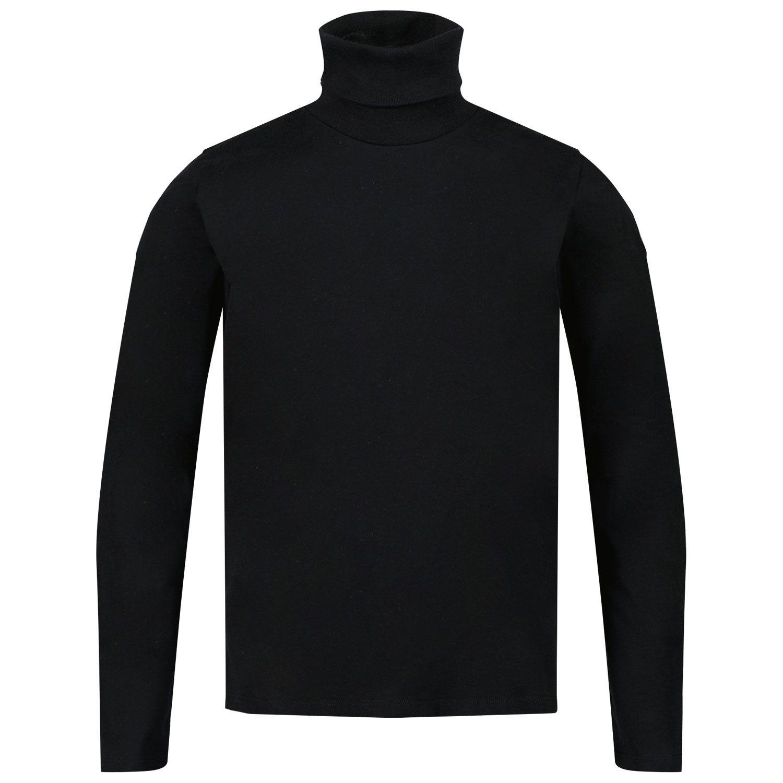 Picture of Moncler 8D72710 kids t-shirt black