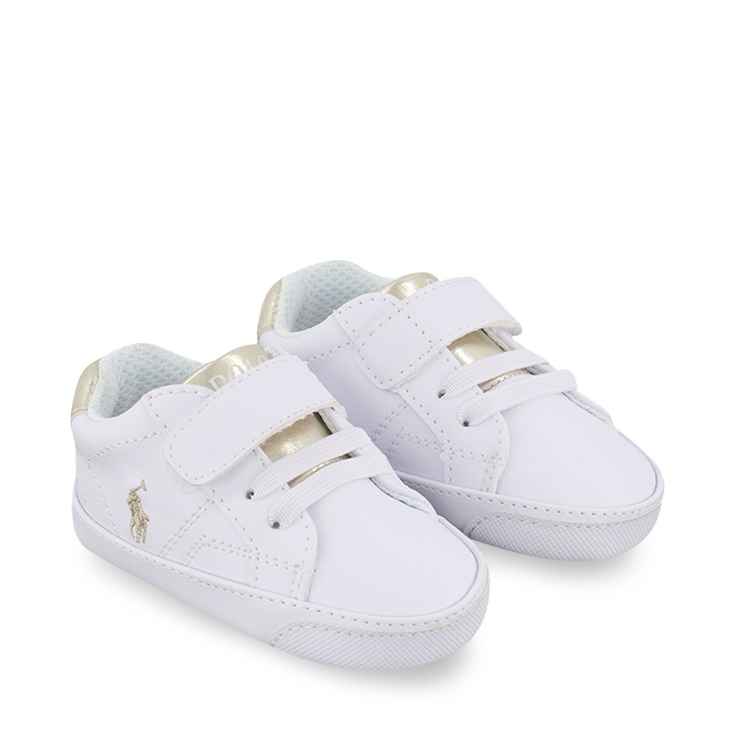 Picture of Ralph Lauren RL100566 baby sneakers white