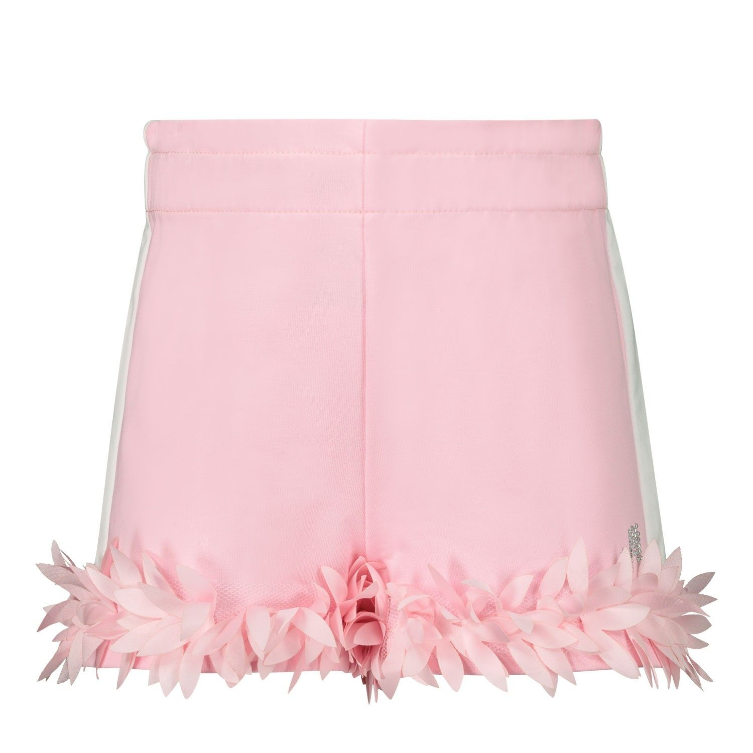 Picture of MonnaLisa 395412 baby shorts pink