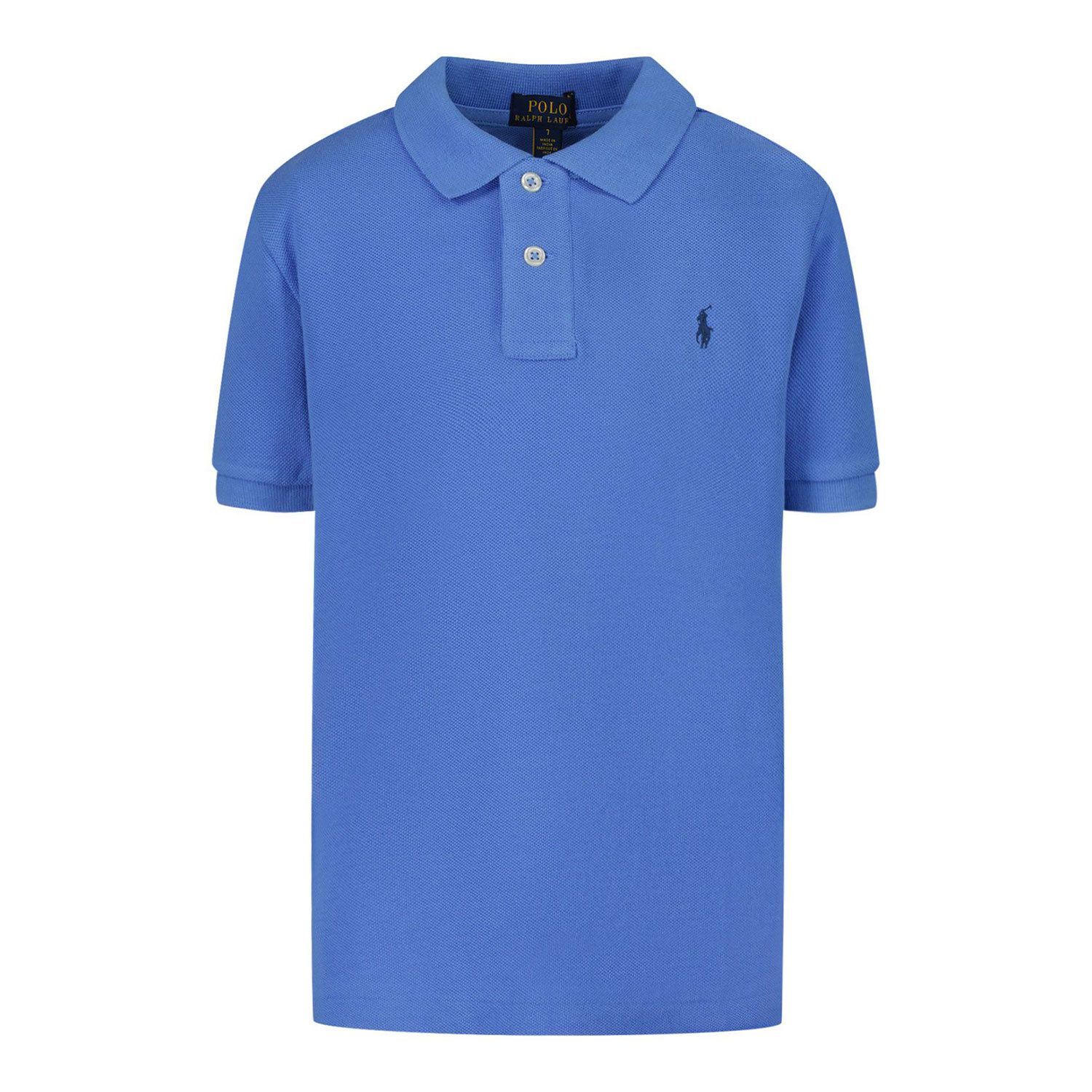 Picture of Ralph Lauren 603252 kids polo shirt blue