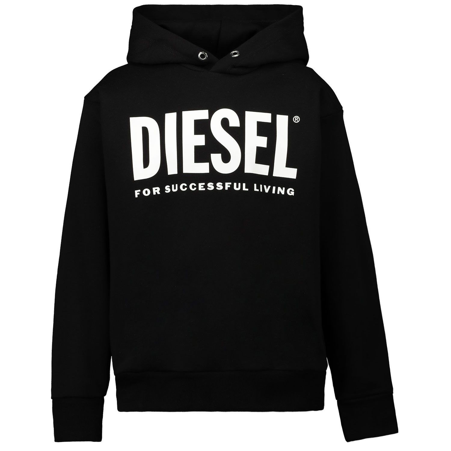 Picture of Diesel 00J4PP kids sweater black