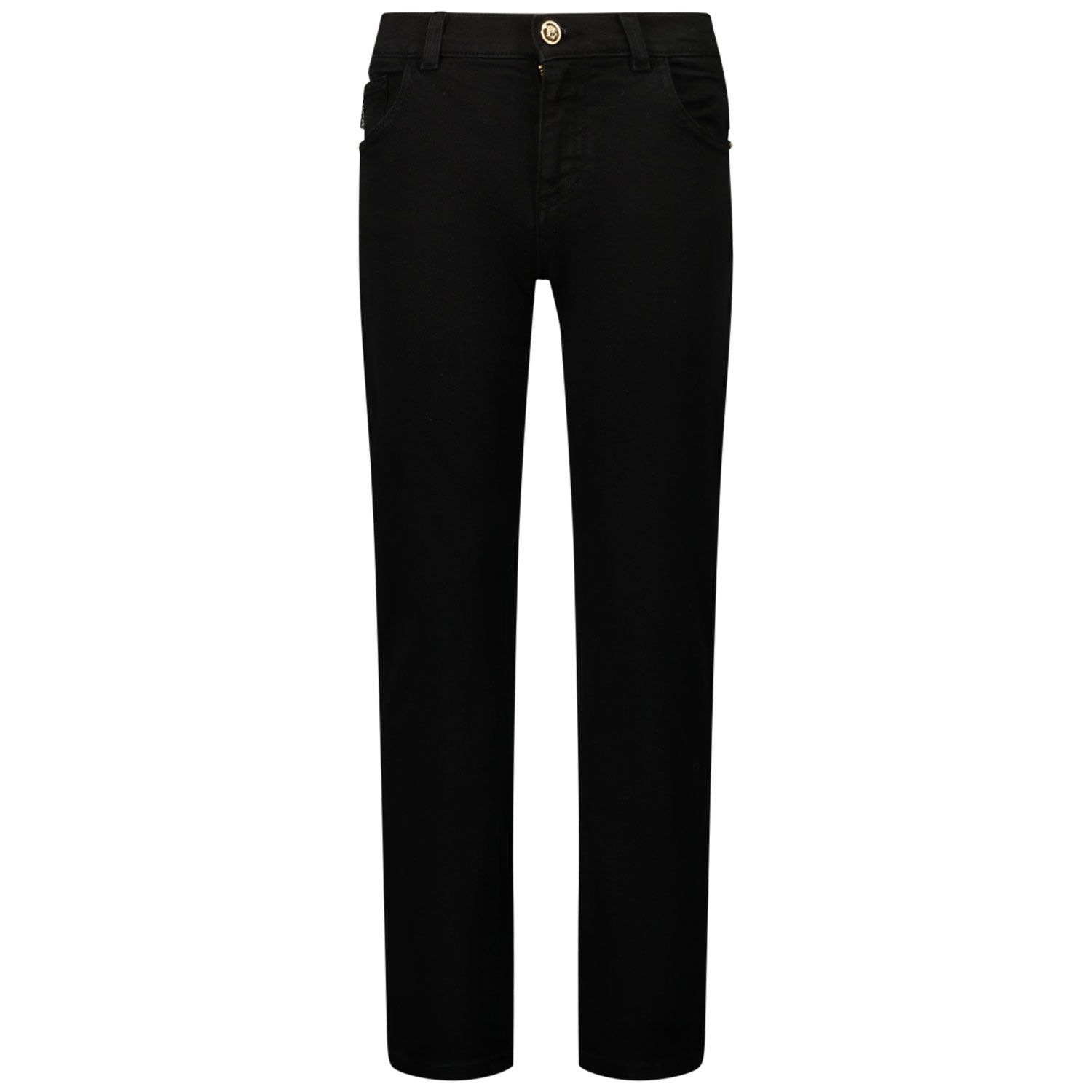 Picture of Versace 1000136 kids jeans black