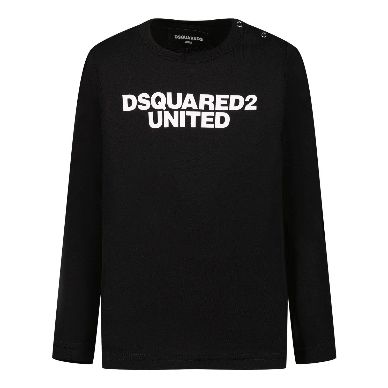 Bild von Dsquared2 DQ0551 Baby-T-Shirt Schwarz
