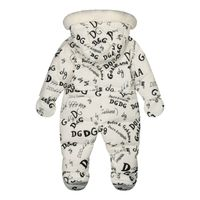 Picture of Dolce & Gabbana L1JO0M/FSSER kids snowuit off white