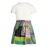 Picture of Versace 1000354 baby dress white
