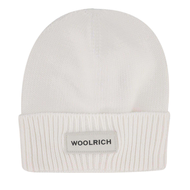 Afbeelding van Woolrich WKAC0096FR babymutsje off white