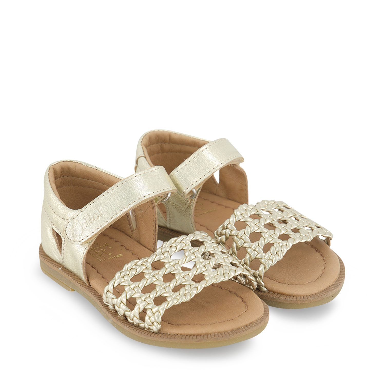 Afbeelding van Clic 20391 kinder sandalen goud